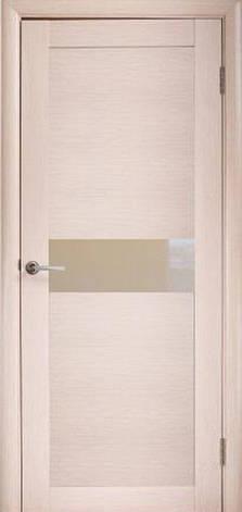 Двери МИЛАНО D-2 М ПО Полотно+коробка+1 к-кт наличников, шпон, фото 2