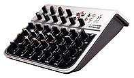 Gewa Alpha Audio Mix four USB микшерный пульт, 4 моно + 2 стерео канала