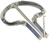 Gewa Original Schwarz №8 варган, металлический, никелированный