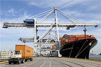 Береговой контейнерный кран типа SHIP TO SHORE