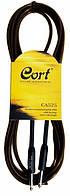 Cort CA525 BK кабель для электрогитары J6,3 - J6,3 (4,5m)