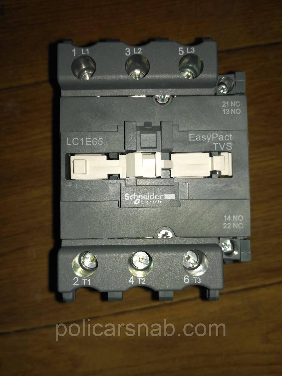Контактор Schneider Electric LC1E65M5