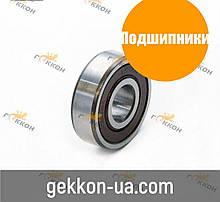 Підшипник генератор ВАЗ, ГАЗ, ЗАЗ 180201 (6201-2RS) (Курськ)