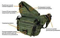 Сумка Leapers мультифункциональная зеленая, фото 1