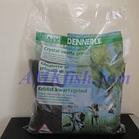 Dennerle Kristall-Quarzkies diamant-schwarz, кварцевый гравий черный, 10 кг