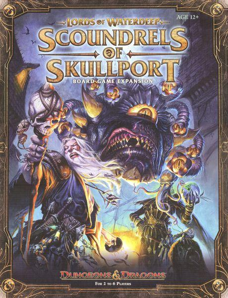 Настольная игра Lords of Waterdeep: Scoundrels of Skullport