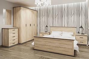 """Модульна спальня """"Палермо"""" від Світ меблів (дуб сонома)."""