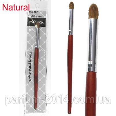 Кисть для макияжа (натуральный ворс) МВ-107, фото 2
