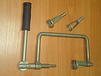 Рассухариватель клапанів струбцинный с 3 насадками РАС-УН