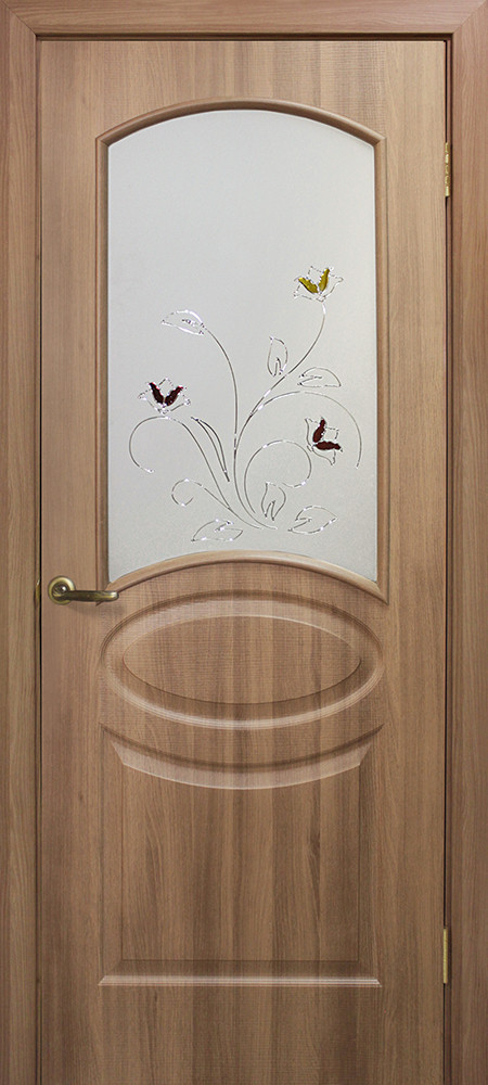 Двері Оміс Ліка СС+КР. Полотно+коробка+2 до-та лиштв+добір 100 мм, ПВХ