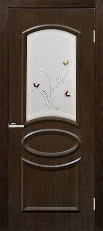 Двері Оміс Ліка СС+КР. Полотно+коробка+2 до-та лиштв+добір 100 мм, ПВХ, фото 2