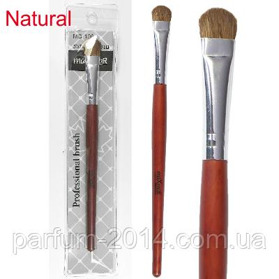 Кисть для макіяжу (натуральний ворс) МВ-108