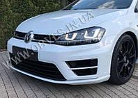 Передний бампер Volkswagen Golf 7 стиль R20, фото 1