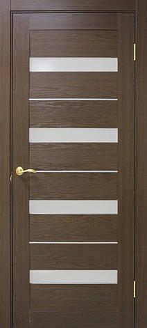 Двері Оміс Мілано . Полотно+коробка+1 до-кт наличників, ПВХ, скло сатин з молдингом, фото 2
