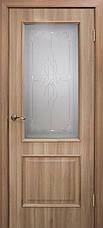 Двери Омис Сан Марко 1.1 ПГ, СС+КР  Полотно, ПВХ, стекло бронза, фото 3