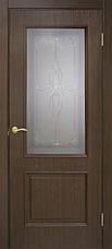 Двері Оміс Сан Марко 1.1 ПГ, СС+КР Полотно, ПВХ, скло бронза, фото 2