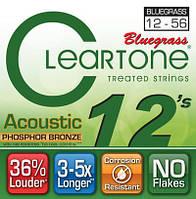 Cleartone 7423 комплект струн премиум класса для акустической гитары 12-56