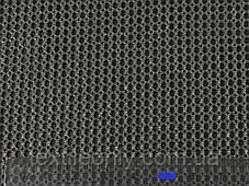 Сітка галантерейна / перегородка щільна колір темно сірий 150 см, фото 3