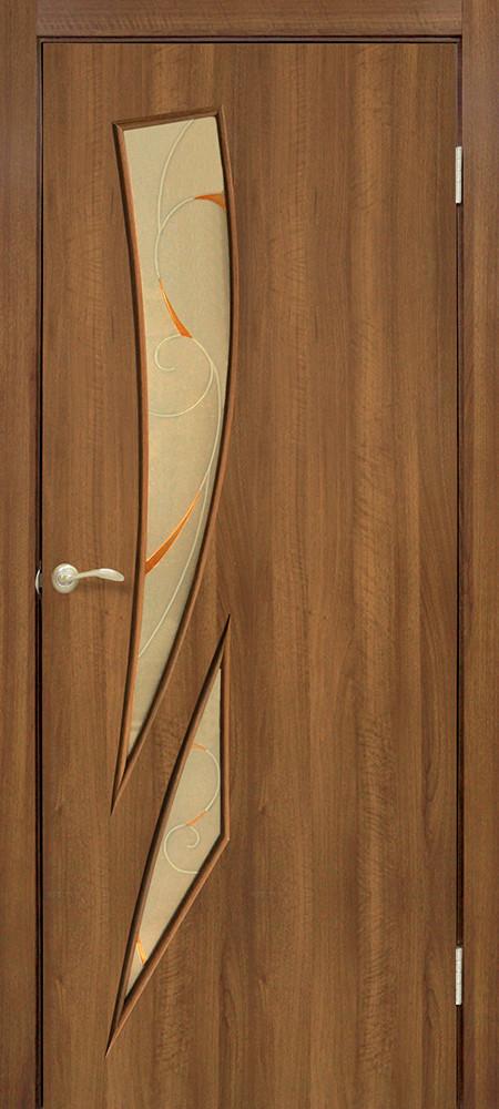 Двери Омис Фиеста КР. Полотно+коробка+1 к-кт наличников, ПВХ