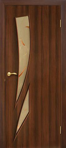 Двері Оміс Фієста КР. Полотно+коробка+2 до-та лиштв+добір 100 мм, ПВХ, фото 2
