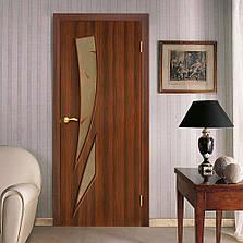 Двері Оміс Фієста КР. Полотно+коробка+2 до-та лиштв+добір 100 мм, ПВХ, фото 3