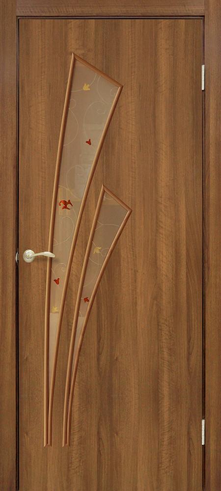 Двери Омис Триумф СС+КР. Полотно+коробка+2 к-та наличников+добор 100 мм, ПВХ