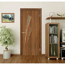 Двери Омис Триумф СС+КР. Полотно+коробка+2 к-та наличников+добор 100 мм, ПВХ, фото 3