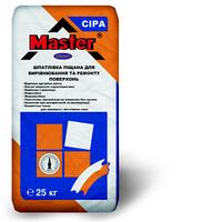 """Шпатлевка песчанка серого цвета для наружных и внутренних работ """"Master Front"""", 25 кг"""