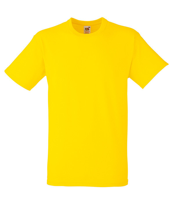 Мужская футболка плотная 2XL, K2 Желтый