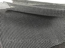 Сітка галантерейна / перегородка щільна колір темно сірий 150 см, фото 2