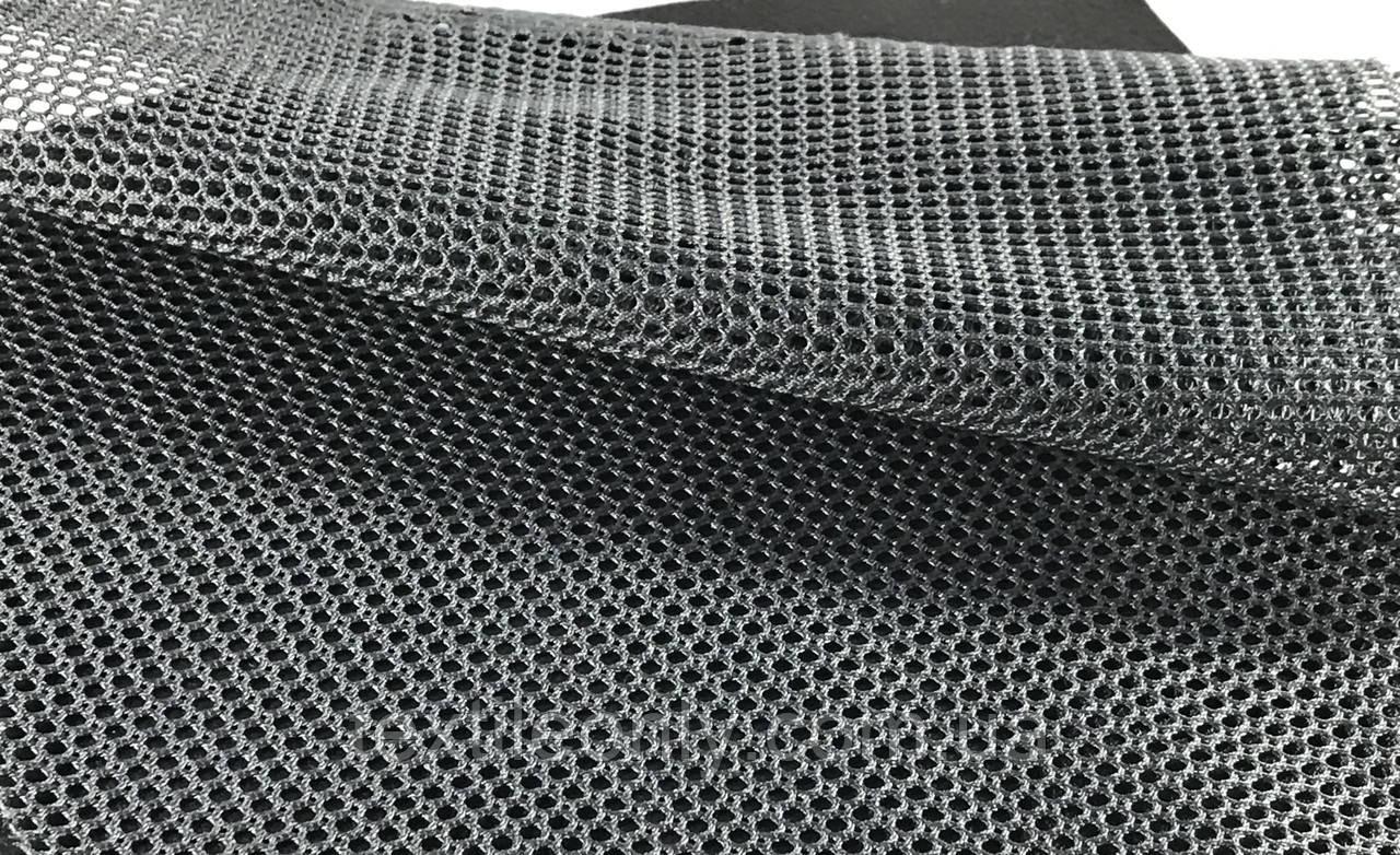 Сітка галантерейна / перегородка щільна колір темно сірий 150 см