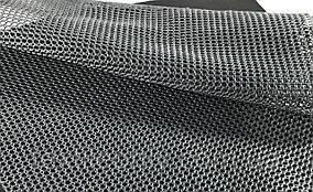Сетка галантерейная / перегородка плотная цвет темно серый 150 см
