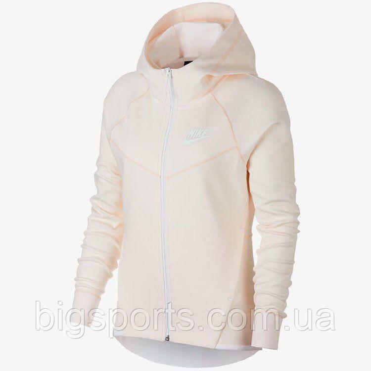 cec65c75 Кофта жен. Nike W Nsw Tch Flc Wr Hoodie Fz (арт. 930759-838), цена 2 ...