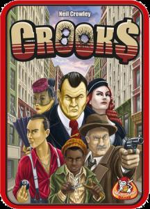 Настольная игра Crooks (Аферисты)