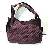 Женские вместительные сумки с боковыми карманами (7 цветов)30*43см, фото 3