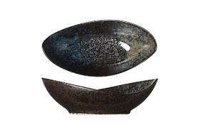 9633619 Салатник 16х8см, h 5см цвет черный серия Black Yoru