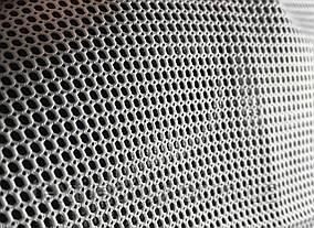 Сетка галантерейная / перегородка плотная цвет белый 150 см