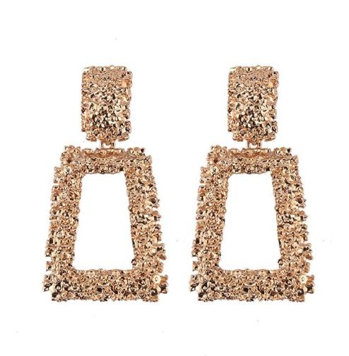 Сережки Turkish Jewels великі вінтаж під золото в стилі Celine