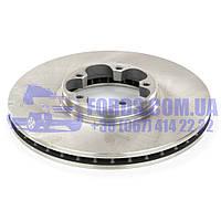 Диск тормозной передний FORD TRANSIT 2000-2006 (FWD) (1738807/1C1J1125A2D/660910) REMSA, фото 1
