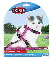 Trixie шлейка с поводком для котят 4144