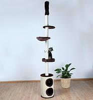 Домик-дряпка для кошки Trixie Linea, от пола до потолка