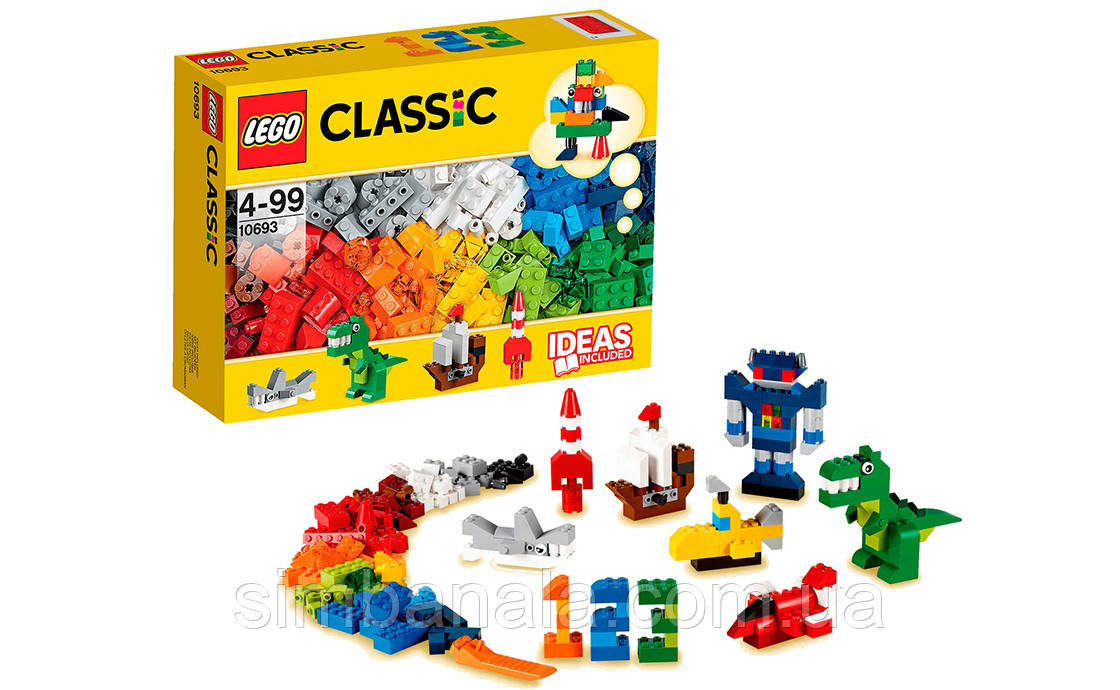 Конструктор LEGO Classic(10693) для творческого конструирувания(303 детали)