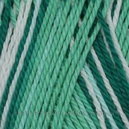Пряжа Сеам Анна-S Print Зелений меланж