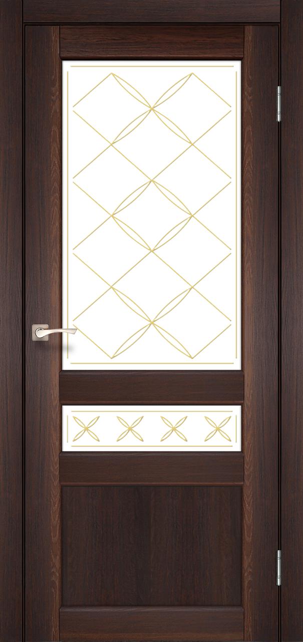 Двери KORFAD CL-04 (без штапика) Полотно+коробка+1 к-т наличников