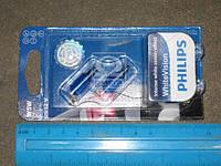 ⭐⭐⭐⭐⭐ Лампа накаливания W5W WhiteVision 12V 5W W 2,1X9,5d (производство  Philips)  12961NBVB2
