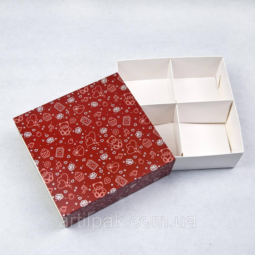 Універсальна коробка-пенал з ложементом 160*160*55 колір ВЕДМЕДИК