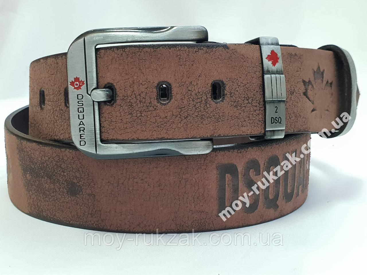 Ремень мужской кожаный Dsquared 45 мм., реплика, арт. 930678
