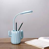 Настольная Лампа Кактус Blue, фото 1