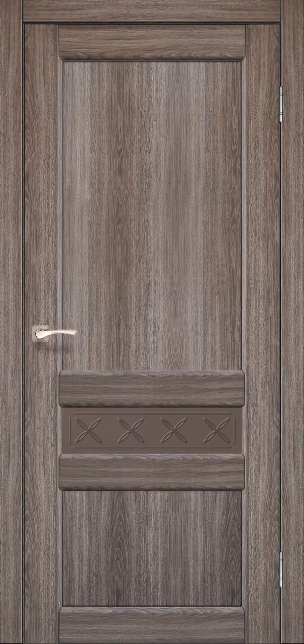 Двери KORFAD CL-06 (без штапика) Полотно+коробка+2 к-та наличников+добор 100мм