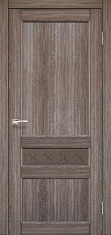 Двери KORFAD CL-06 (без штапика) Полотно+коробка+2 к-та наличников+добор 100мм, фото 2